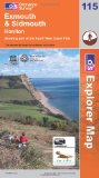 Exmouth and Sidmouth, Honiton (Explorer Maps 115 Map)