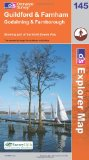 Guildford and Farnham (Explorer Maps) (OS Explorer Map)