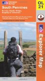 South Pennines (OS Explorer Map): Burnley, Hebden Bridge, Keighley & Todmorden. Showing the Pennine Way and the area between Yorkshire Dales and Peak District national Parks