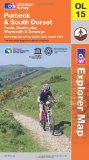 Purbeck and South Dorset, Poole, Dorchester, Weymouth & Swanage: Showing part of the South West Coast Path (OS Explorer Map)