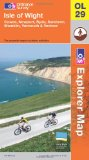 Isle of Wight: Cowes, Newport, Ryde, Sandown, Shanklin, Yarmouth & Ventnor (OS Explorer Map)