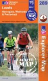 Leeds, Harrogate, Wetherby and Pontefract (OS Explorer Map Active) [Folded Map]