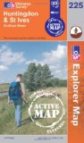 Huntingdon and St Ives, Grafham Water (OS Explorer Map Active)