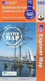 Guildford and Farnham (OS Explorer Map Active)