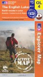 The English Lakes - North Western Area (OS Explorer Map Active): Keswick, Cockermouth & Wigton