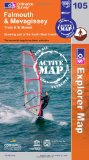 Falmouth, Mevagissey, Truro and St Mawes (OS Explorer Map Active)