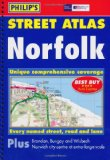 Philip's Street Atlas: Norfolk [Spiral-bound]