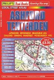 Philip's Red Books Ashford and Tenterden (Philip's Local Street Atlases)