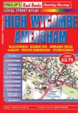 Philip's Red Books High Wycombe and Amersham (Philip's Local Street Atlases)