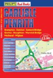 Philip's Red Books Carlisle and Penrith (Local Street Atlases)