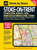 AA Street by Street Stoke on Trent: Midi