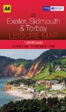 Leisure Map Exeter, Sidmouth and Torbay (AA Leisure Maps) [Folded Map]