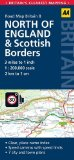 8. Northern England & Scottish Borders: AA Road Map Britain