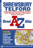 Shrewsbury & Telford Street Atlas (A-Z Street Atlas) [Illustrated]