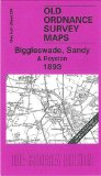 Biggleswade, Sandy and Royston 1893: Inch to the Mile Sheet 204 (Old Ordnance Survey Maps - Inch to the Mile)